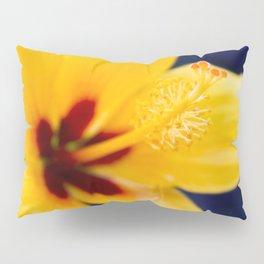 Hibiscus Lemon Drop Tropical Fancy Flowers Pillow Sham