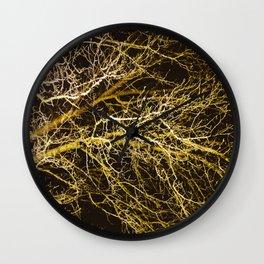 Cluttered Nite II Wall Clock