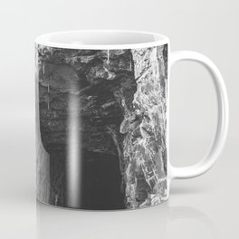 The Tunnel-Black and White Photography Coffee Mug