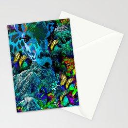 GIRAFFE BUTTERFLY AND BIRD Stationery Cards