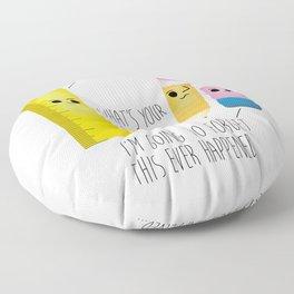 I Am Your Ruler Floor Pillow