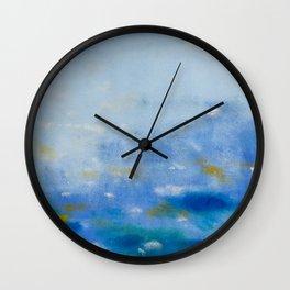 Tekapo 2 Wall Clock
