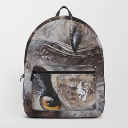 """The Owl - """"Watch-me!"""" - Animal - by LiliFlore Backpack"""