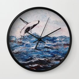 The Amazing Orca Wall Clock