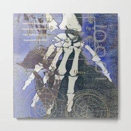Grip Metal Print