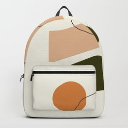 Nectar 02 || Abstract Painting Backpack
