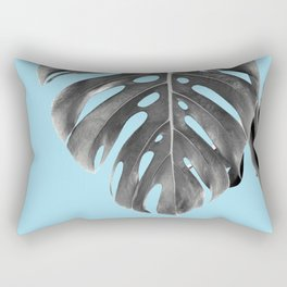Monstera Delight #1 #tropical #decor #art #society6 Rectangular Pillow