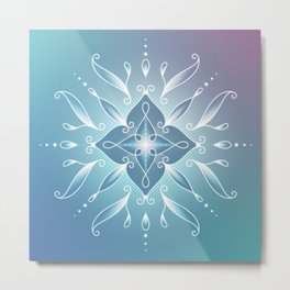 Alpha waves | Deep dream Metal Print