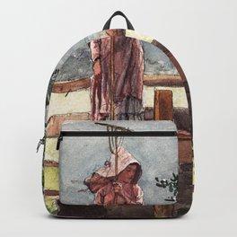 Winslow Homer1 - Spring - Digital Remastered Edition Backpack
