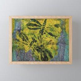 Dragonfly Dance #1 Framed Mini Art Print