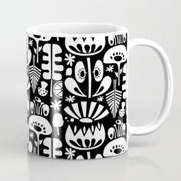 MCM Scandi Flowers White Coffee Mug