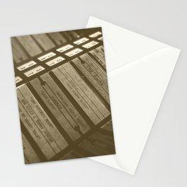 the original DJ Stationery Cards