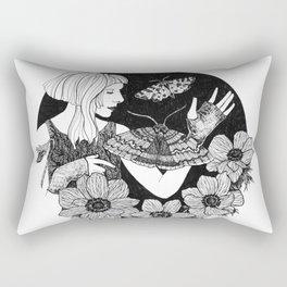 Daydreamer (Aurora Aksnes) Rectangular Pillow