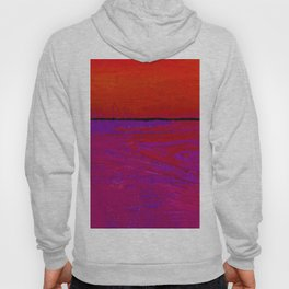 Square Abstract No. 8C by Kathy Morton Stanion Hoody