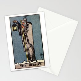 IX. The Hermit Tarot Card Stationery Cards