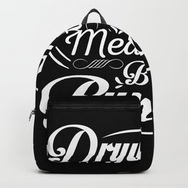 Drywall hanger craftsman gift Backpack