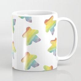 Rainbow Meeples Coffee Mug