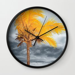 Coconut Tree Wall Clock