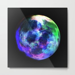 Beautiful Planet Metal Print