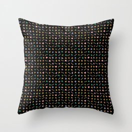 Heroes in the Half Shell (Black) Throw Pillow