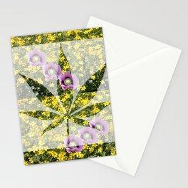 Weed Poppy Flower Botanicals Stationery Cards