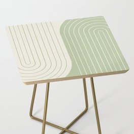 Two Tone Line Curvature XVI Side Table