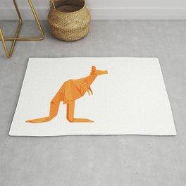Origami Kangaroo Rug
