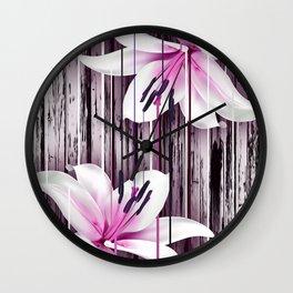 Pink Gin Wall Clock