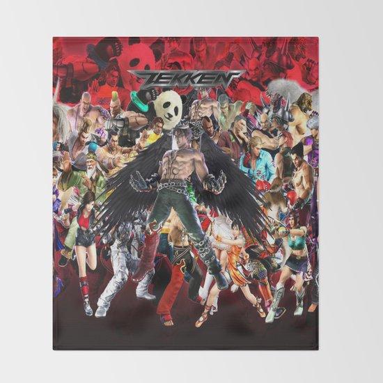 Tekken Games Video Jin Kazama Devil Character Best Art Throw