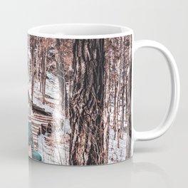Winter Hike   Minnesota Landscape and Collage Coffee Mug