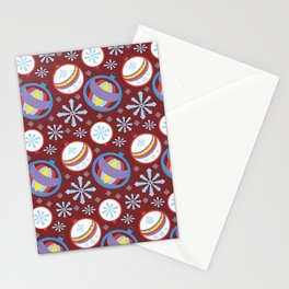 Christmas pettern Stationery Cards
