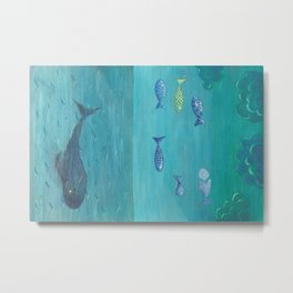 Over the sea Metal Print