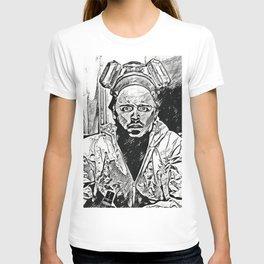 Breaking Jesse Pinkman Artistic Illustration Manga Style T-shirt