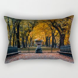 Autumn Color of Central Park The Mall Rectangular Pillow