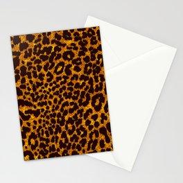 Glitter Leopard Stationery Cards