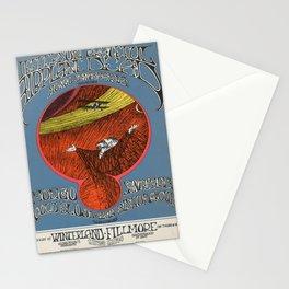 retro Plakat cold blood elvin bishop group Stationery Cards