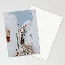 mykonos / greece Stationery Cards