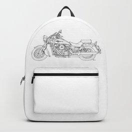 KAWASAKI VULCAN 1600 CLASSIC 2006, Christmas gift!!! Backpack