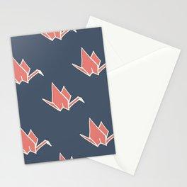 Petite Origami Cranes Stationery Cards