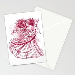 Witch of Fortune Stationery Cards