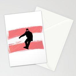Osterreich | Austria | Mountain sports | Sports | Snowboarding | Powder Rider | Snowboard Lover | Stationery Cards