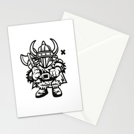 vikings wall tapestry Stationery Cards