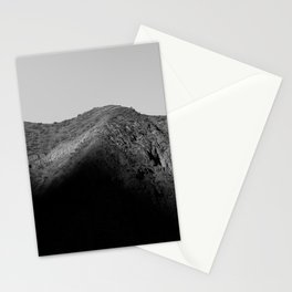 mountain shadow Stationery Cards