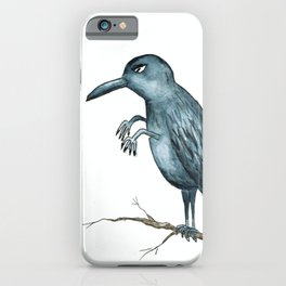 Evil Hand Bird iPhone Case