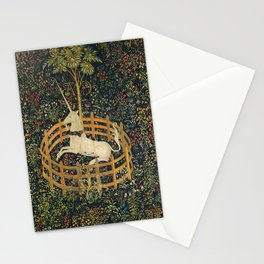 The Unicorn in Captivity (from the Unicorn Tapestries) 1495–1505 Stationery Cards