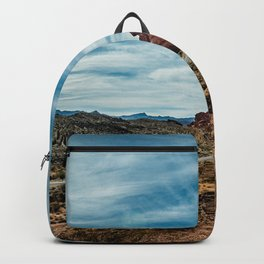 """""""Between Here And There"""" (Valley of Fire; Nevada) Backpack"""