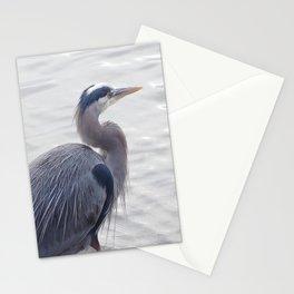 Heron Steps Forward Stationery Cards