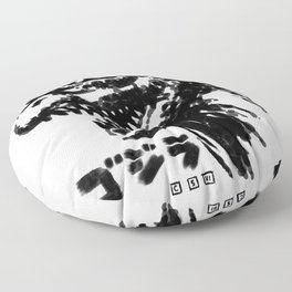 Waterbrushed Classic King Floor Pillow
