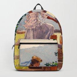 Winslow Homer1 - On The Stile - Digital Remastered Edition Backpack