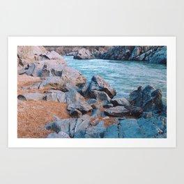 Sunrise at Great Falls National Park, VA Art Print